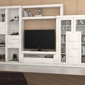 Mueble de salón roble 02