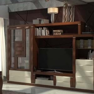 Mueble de salón roble 09
