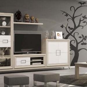 Mueble de salón roble Havana 01
