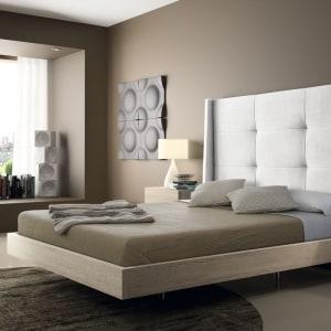 Dormitorio EOS 148 con cabezal tapizado