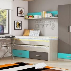 Composición juvenil con cama compacto n402