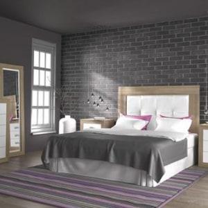 Dormitorio París A314