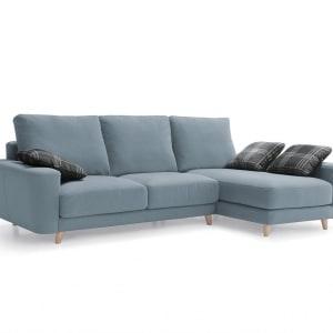 Sofá estilo nórdico Irina Divani