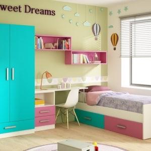Composición juvenil n 401 con cama nido