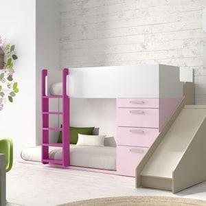 Dormitorio juvenil tobogán
