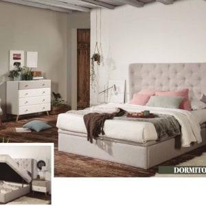 Dormitorio Tapizado Clodette