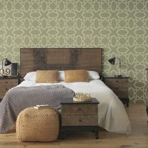 Dormitorio Rústico e Industrial Antique