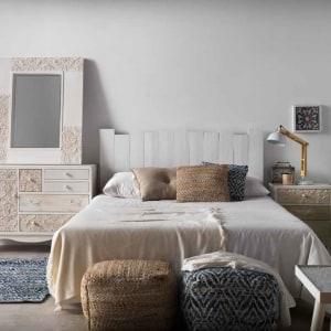 Dormitorio Rústico e Industrial Tablas