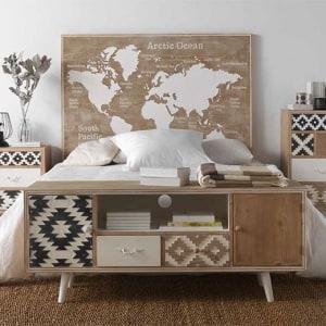 Dormitorio Rústico e Industrial Mundi