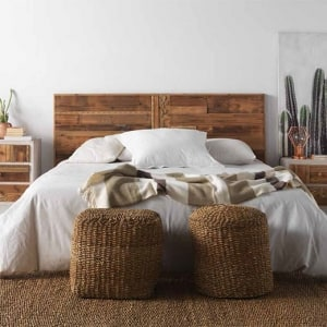 Dormitorio Rústico e Industrial tablillas