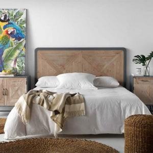 Dormitorio Rústico e Industrial Acero