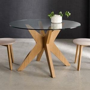 Mesa chapa madera Roma